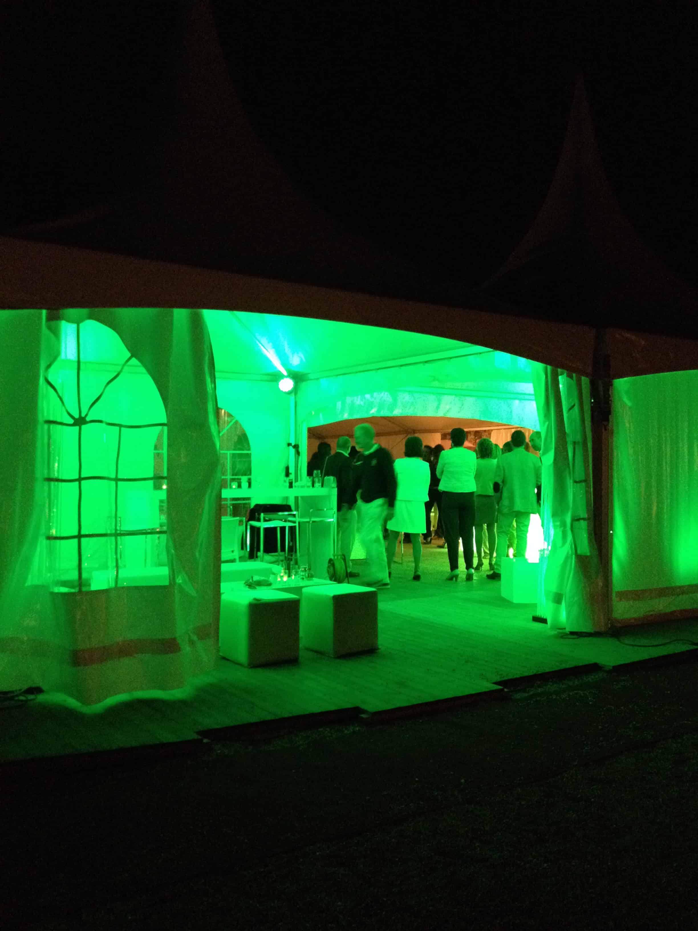 Verlichting in uw tent - Eventinators
